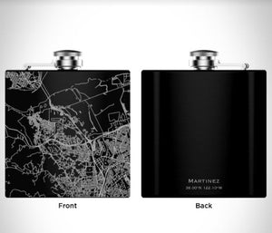 MARTINEZ BOOZ CITY FLASK