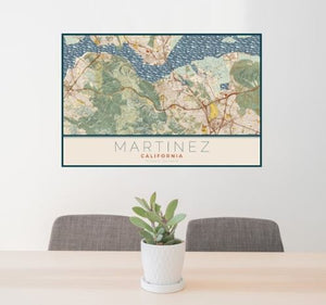 MARTINEZ MAP PRINTS- SMALL