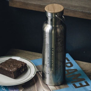 MARTINEZ CANTEEN BOTTLE WITH BAMBOO CAP