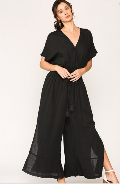 GIANA WIDE LEG JUMPER