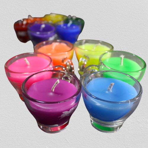 Agreeable Agony Wax Play Candles - Pitcher Candles , Tea Cup Candles, Blacklight Candles, all low temp and safe for Kinky Wax Play