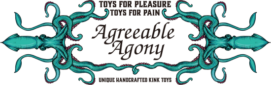 Agreeable Agony - Handmade kink toys and bondage gear