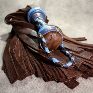Elk Hide Flogger - Leather Flogger - Custom to order