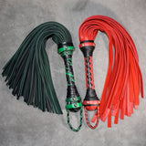 Bullhide Flogger - Leather Flogger - Custom to order