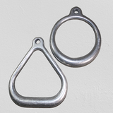 Aluminum Suspension Ring / Trapeze style gymnast Ring - For Shibari or Suspension