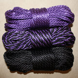 "Colors of the Month! – October – 1/4"" – 6mm – Solid Braid MFP Rope"