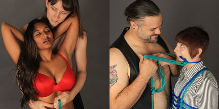 Book - More Shibari You Can Use: Passionate Rope Bondage and Intimate Connection By Lee Harrington - Agreeable Agony - 3