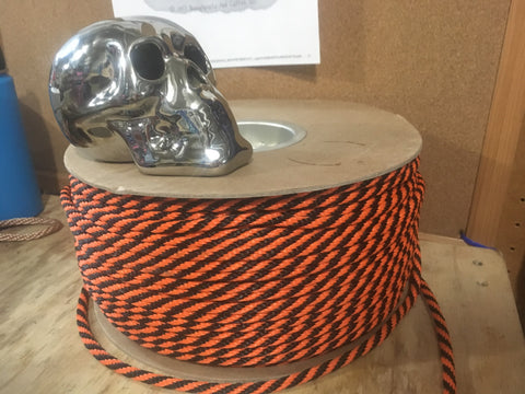 Spooky Halloween Rope! Black and Orange!  Limited Edition!