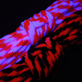 "Blacklight Reactive Bondage Rope – 5/16"" –  8mm – Solid Braid MFP Rope - 30ft"