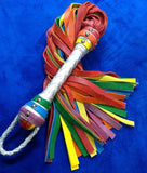 Rainbow Flogger &  Pride Floggers – Single or Florentine