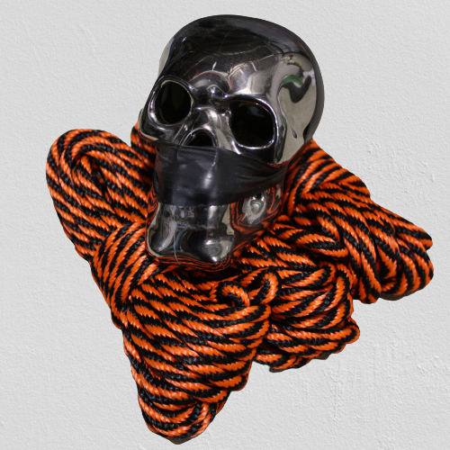 Halloween Spooky Rope! Black and Orange! Available all year!