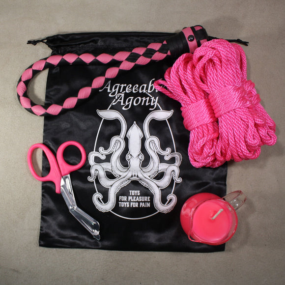 Impact & More Kinky Starter Kit with Storage Bag