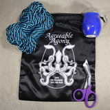 Hot Wax & Bondage Rope Starter Kit - Pitcher Candle & MFP Rope with Storage bag