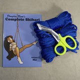 Beginners Rope Bondage Kit (90ft!) for Shibari or Suspension - 6mm 1/4in Synthetic Bondage Rope