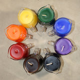 Rainbow & Pride Flag Candle Sets - Wax Play Pitcher Candles - Pride Rainbow