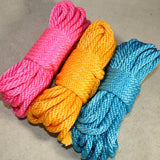 "Pride Rope Combo Kits! –1/4"" 6mm MFP – Pride Themed Bondage Rope Kits"