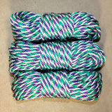 "Pride Rope! – Pride Twists – June Colors of the Month – 1/4"" 6mm MFP – Pride Themed Bondage Rope"