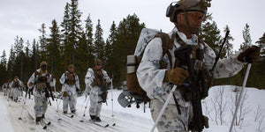 Marine Corps Arrive in Norway For Cold Weather Warfare Preparation