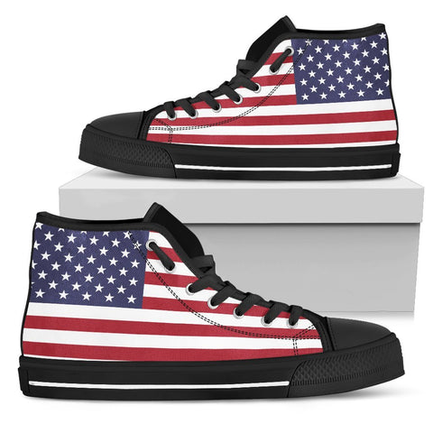 American Flag Patriot High Tops