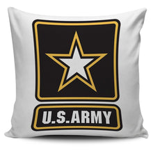 Military Branch Pillows (Army, Marines, Navy, Air Force)