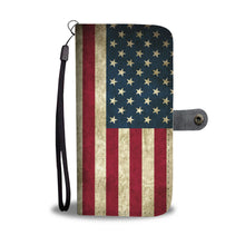 American Flag Wallet Phone Case