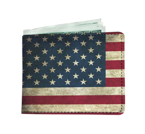 American Flag Wallet w/ RFID Protection