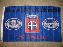 3x5 Army Blue 82nd Airborne Division All American Flag 3'x5' Banner (Licensed) - FREE SHIPPING - Veteran Tees - 2