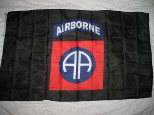 3x5 Army Blue 82nd Airborne Division All American Flag 3'x5' Banner (Licensed) - FREE SHIPPING - Veteran Tees - 1