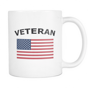 LIMITED EDITION Veteran American Flag Coffee Mug - Veteran Tees - 2