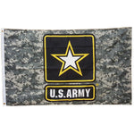 LIMITED EDITION 3x5 Camo U.S. Army Flag - 50% OFF WHILE SUPPLIES LAST! - Veteran Tees