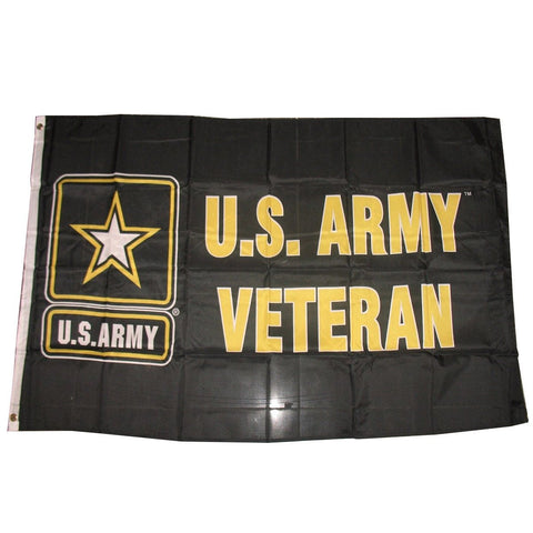 LIMITED EDITION 3x5 U.S. Army Strong Veteran Flag - 50% OFF WHILE SUPPLIES LAST! - Veteran Tees