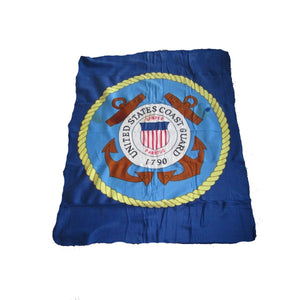 United States U.S. Coast Guard 1790 50x60 Polar Fleece Blanket - FREE SHIPPING