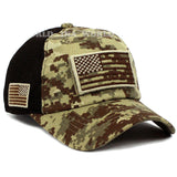 Tactical Operator USA Flag Hat w/ Removable Patch