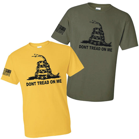 LIMITED EDITION DON'T TREAD ON ME AMERICAN FLAG SHIRT - 40% OFF WHILE SUPPLIES LAST! - Veteran Tees - 1