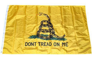 Don't Tread On Me & American Flag 3x5 Combo - 70% OFF WHILE SUPPLIES LAST! - Veteran Tees - 3
