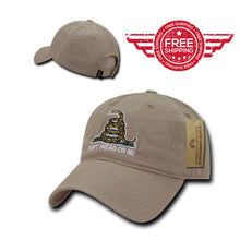 Don't Tread On me Baseball Cap - FREE SHIPPING - Veteran Tees - 1