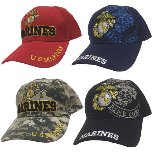 USMC Marine Corps Eagle Globe & Anchor Hat
