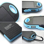 LIMITED EDITION Portable Waterproof Solar Charger Dual USB External Battery Power Bank - 80% OFF & FREE SHIPPING THIS WEEK! - Veteran Tees - 7