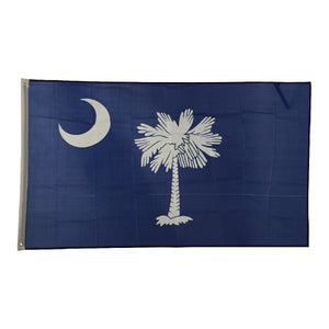 New Design 3'x5' Ft South Carolina State SC Flag - FREE SHIPPING - Veteran Tees - 2