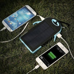 LIMITED EDITION Portable Waterproof Solar Charger Dual USB External Battery Power Bank - 80% OFF & FREE SHIPPING THIS WEEK! - Veteran Tees - 3