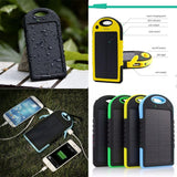 LIMITED EDITION Portable Waterproof Solar Charger Dual USB External Battery Power Bank - 80% OFF & FREE SHIPPING THIS WEEK! - Veteran Tees - 1