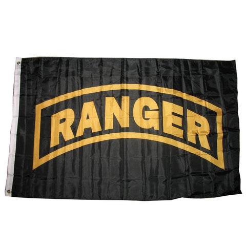 LIMITED EDITION 3x5 Army Ranger Flag - 50% OFF WHILE SUPPLIES LAST! - Veteran Tees - 1