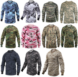 Striker Long Sleeve Camo Tactical Shirt