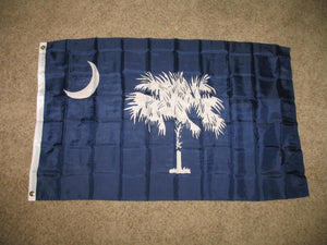 New Design 3'x5' Ft South Carolina State SC Flag - FREE SHIPPING - Veteran Tees - 3
