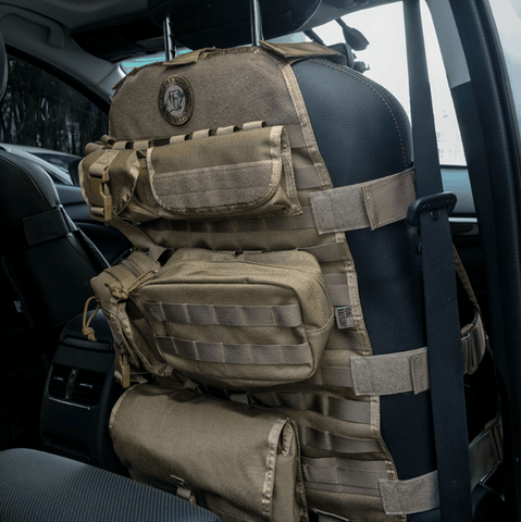 Rambo Tactical Molle Car Seat Organizer