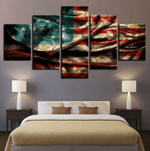 American Flag Patriot Canvases