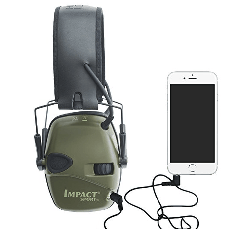 Sound Amplification Electronic Headphones & Ear Protection