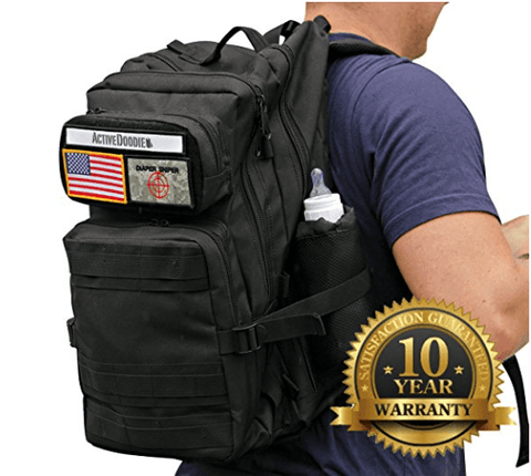 Diaper Backpack & Changing Pad Combo w/ 10 Year Warranty