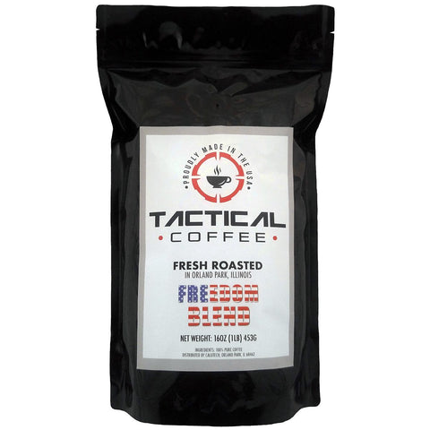 "Tactical Coffee ""FREEDOM BLEND"" - Made in the USA!"