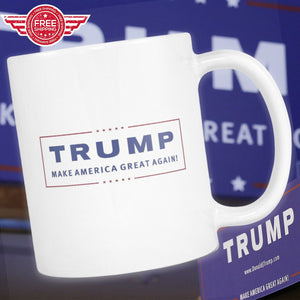 "Limited Edition ""Make America Great Again"" Coffee Mug - Veteran Tees - 1"